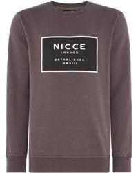 Nicce London - Men's Est-13 Sweatshirt - Lyst