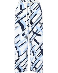 Jigsaw - Graphic Weave Crop Trousers - Lyst