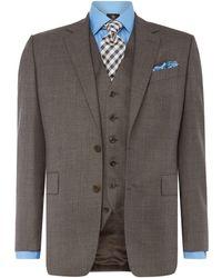 Chester Barrie - Albermarle Ff Sharkskin Suit - Lyst