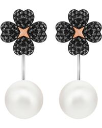 Swarovski - Latisha Pierced Earring Jackets - Lyst