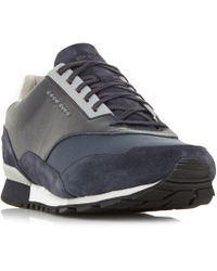 Dune - Zephir Mix Material Trainers - Lyst