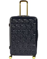 Biba - Logo Navy 8 Wheel Hard Large Suitcase - Lyst