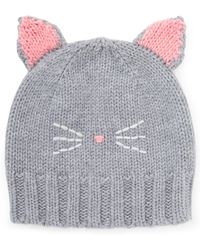 Jigsaw - Cat Knitted Hat - Lyst
