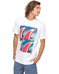 Quiksilver - Men's Classic Fluid Turns Tshirt - Lyst