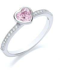 Bouton - Stacker Ring Heart - Lyst