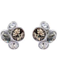 Ted Baker - Lynda Silver Jewel Cluster Stud Earring - Lyst