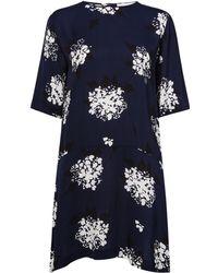 Samsøe & Samsøe | Leopard Print Dropped Waist Dress | Lyst