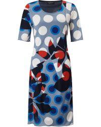 James Lakeland - Printed Cut Pleat Dress - Lyst