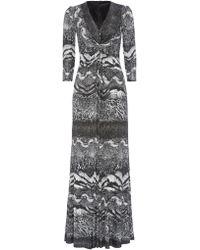 Anoushka G - Eliana Print Jersey Maxi Dress - Lyst