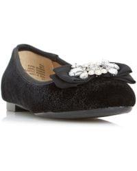 Dune - Happi Jewel Ballet Shoes - Lyst