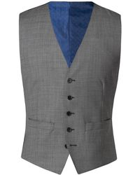 Alexandre Of England - Men's Windsor Grey Sharksin Vest - Lyst