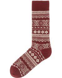 Barbour   Onso Fairisle Sock   Lyst