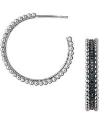 Links of London - Effervescence Diamond Hoop Earrings - Lyst