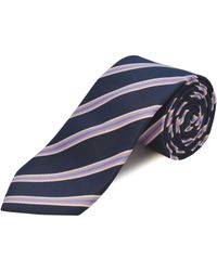 Double Two - Clip On Polyester Tie - Lyst