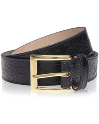 Biba Embossed Belt - Black