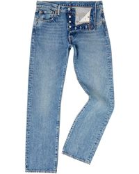 c7a0bbd4 Lyst - Levi'S Straight Fit Jeans Crosby in Blue for Men
