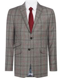 Ted Baker - Hemple Prince Of Wales Check Suit Jacket - Lyst