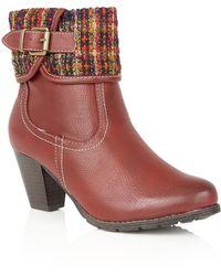 Lotus - Zalea Ankle Boots - Lyst