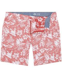 Izod Hawaiian Shorts - Pink