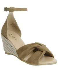 Office - Mauritius Knot Front Wedges - Lyst