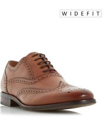 Dune - Rugby Oxford Brogue Shoes - Lyst