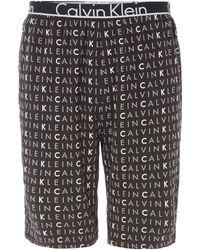Calvin Klein | Logo Print Sleep Short | Lyst