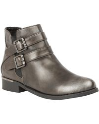 Lotus - Palm Ankle Boots - Lyst