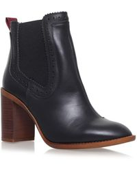 59d5fe37a34 Safari High Heel Ankle Boots - Black