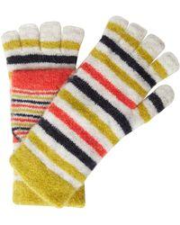 White Stuff - Riley Stripe Flip Mit Glove - Lyst