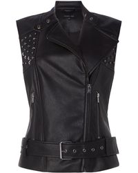 Label Lab - Studded Gilet - Lyst