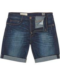 Criminal - Men's Indigo Denim Shorts - Lyst