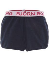 Björn Borg - Solid Sybil Shorts - Lyst
