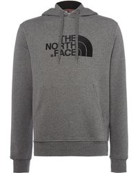The North Face - Overhead Large Logo Hoodie - Lyst