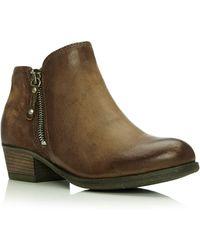 74c3d9d69d2b Moda In Pelle Adoni Low Casual Short Boots in Black - Lyst