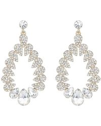 Mikey - Multi Oval Marquise Filligree Earring - Lyst