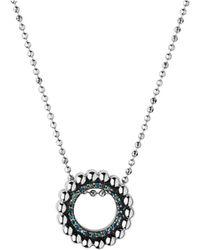 Links of London - Effervescence Blue Diamond Necklace - Lyst
