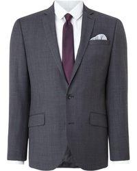 Kenneth Cole - Men's Metropolitan Slim Fit Windowpane Suit Jacket - Lyst