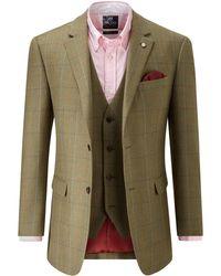 Skopes Sunningdale Wool Blend Jacket - Green