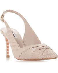 417d481d71a0c Akira Got Cash Bling Bling Strappy Heeled Sandals in Pink - Lyst