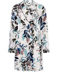 Biba - Oriental Floral Light Weight Robe - Lyst
