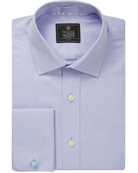 Skopes Luxury Collection Formal Shirt - Blue