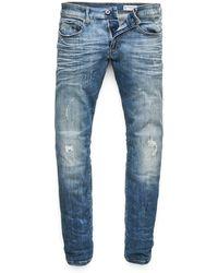 G-Star RAW - Men\u0027s 3301 Deconstructed Skinny Jeans - Lyst
