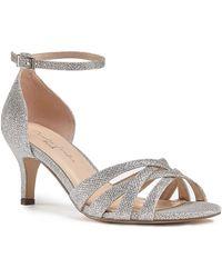 Paradox London Pink - Malika Mid Heel Sandals - Lyst