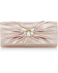 Roland Cartier - Blissful Diam Ruched Clutch Bag - Lyst