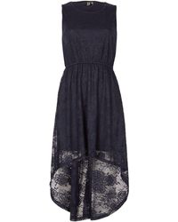 Izabel London - Sleeveless Dip Back Lace Dress - Lyst
