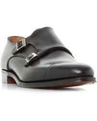 Cheaney - Downing City Double Monk Shoes - Lyst