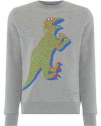 PS by Paul Smith - Men's Dino Sweatshirt - Lyst