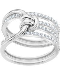 Swarovski - Lifelong Ring - Lyst
