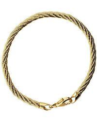 Azendi - 5 Strand Gold Vermeil Bracelet - Lyst