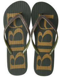 Biba Flip Flops - Black
